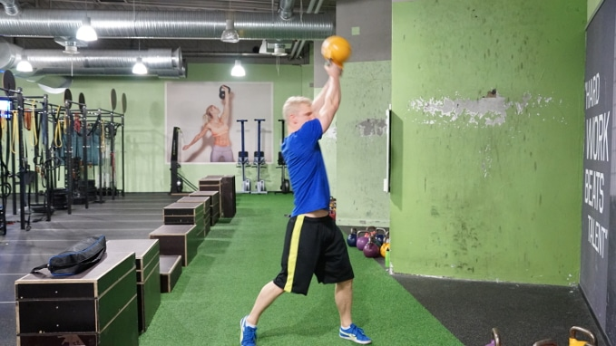 atlas swing kettlebell core exercise