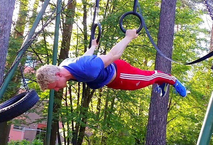 back lever calisthenics
