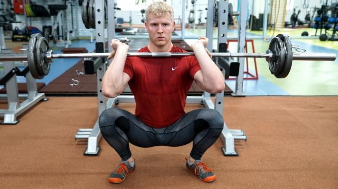 front squat variations