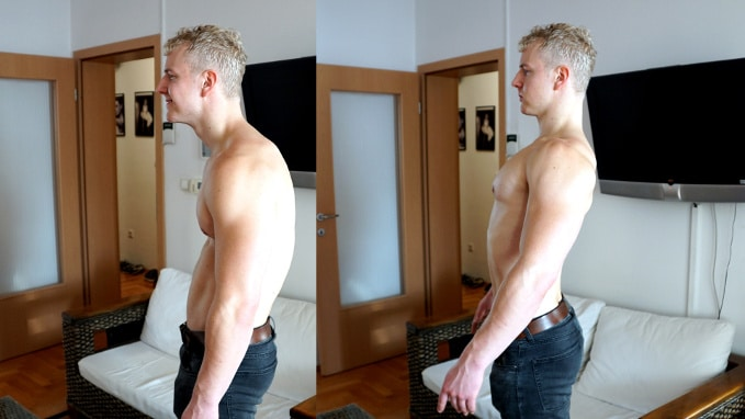 how to develop a good posture