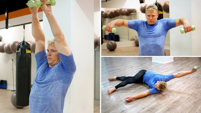shoulder warm up and mobilization routine