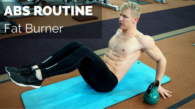 intense abs routine fat burn