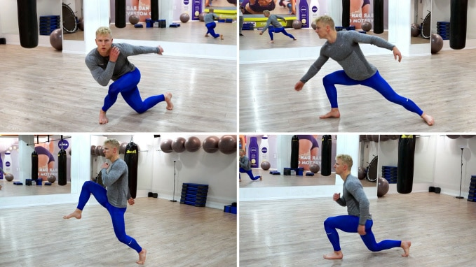 how to lunge best lunge