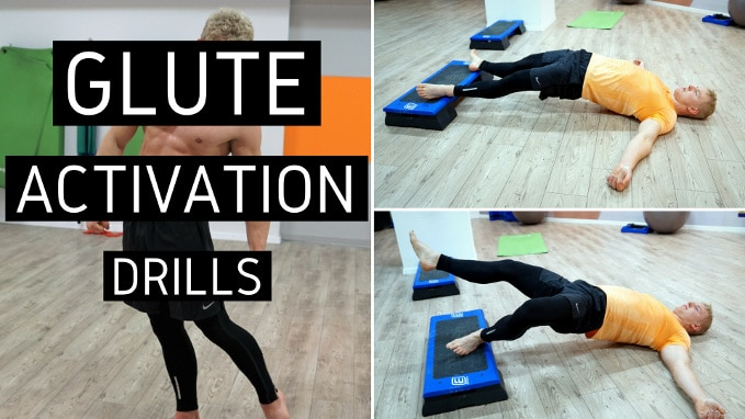 GLUTE activation exercises drills
