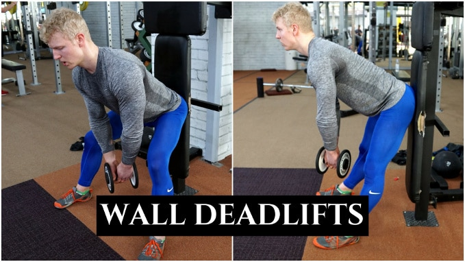 wall deadlifts best lower back exercise