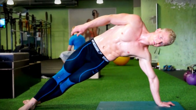 9 plank exercises for obliques