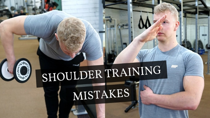 shoulder training mistakes