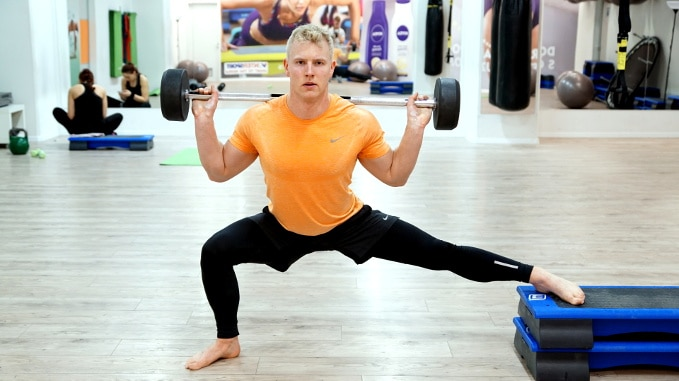 best lunges and split squats