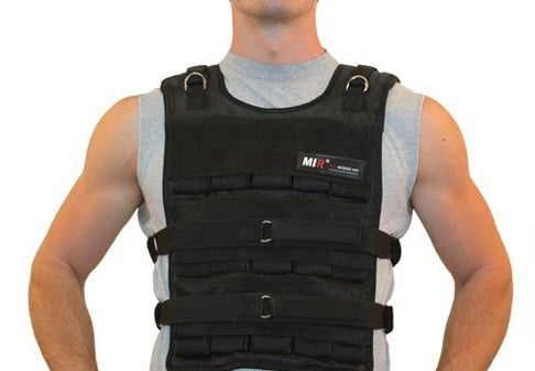 Adjustable weighted vest for bodyweight training