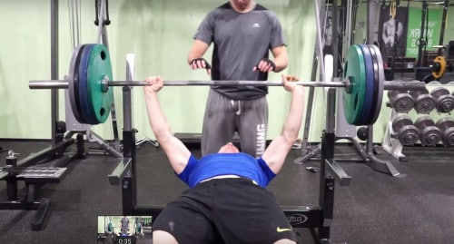 supramaximal training for bench press