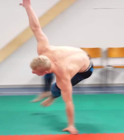 leaping monkey exercise