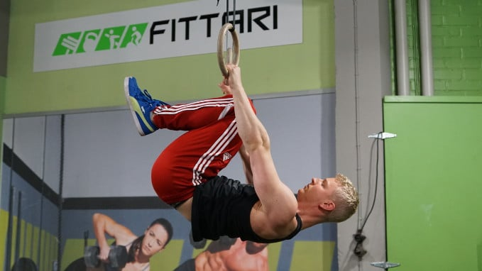 tuck front lever row