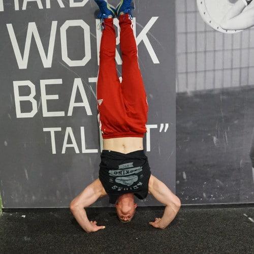 headstand push ups