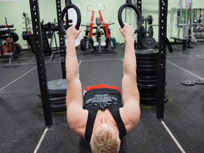 inverted rows support