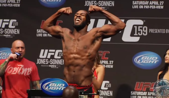 Jon Jones Workout Routine for Legs and Abs