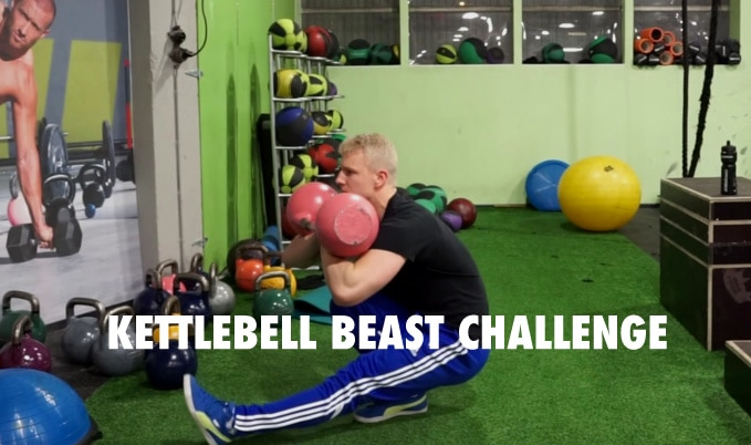kettlebell beast challenge