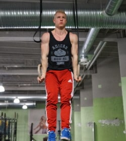 muscle up top position support