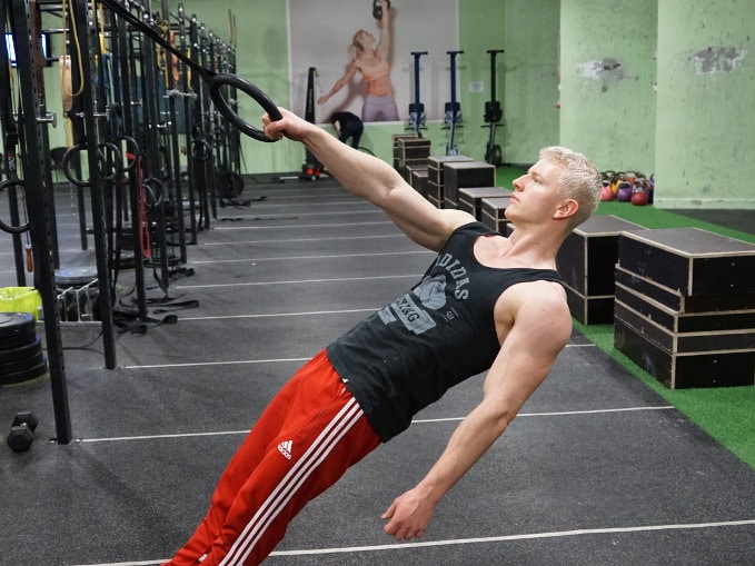 How to do inverted rows and take bodyweight the