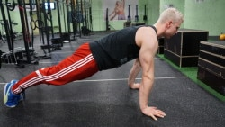 forearm push up top position