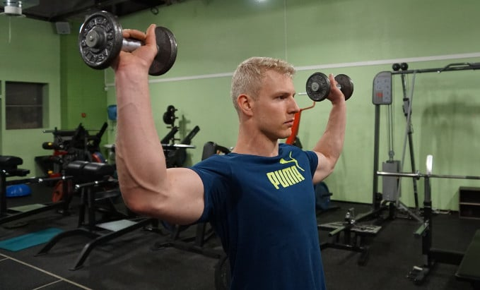 standing external rotation for muscle up
