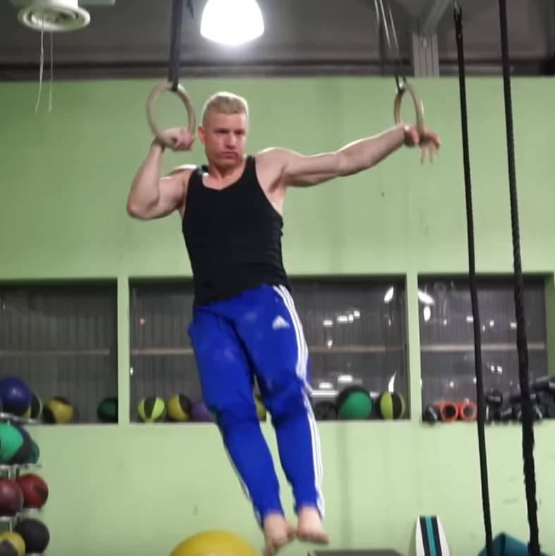 one arm muscle up