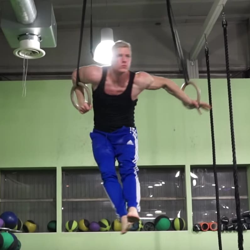 one arm muscle ups