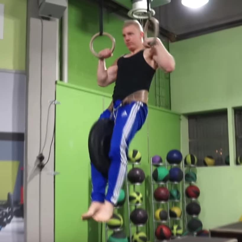 weighted muscle ups