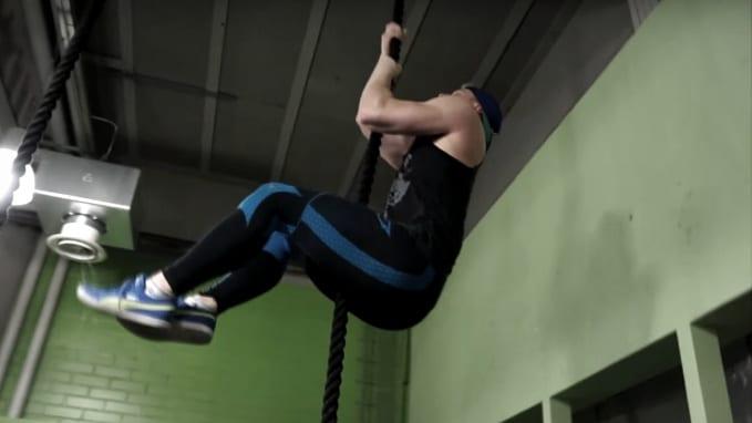 advanced rope climb progression