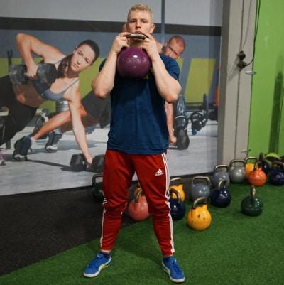 goblet squat for squat mobility