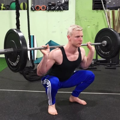 pause back squat for hips