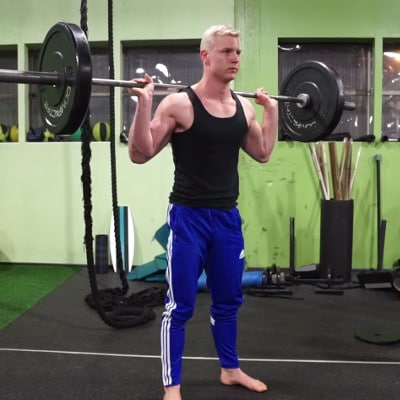 pause back squats for mobility