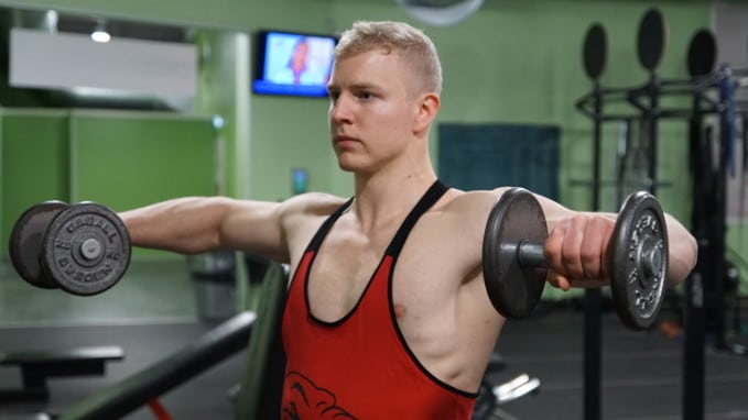standing rotator cuff exercise