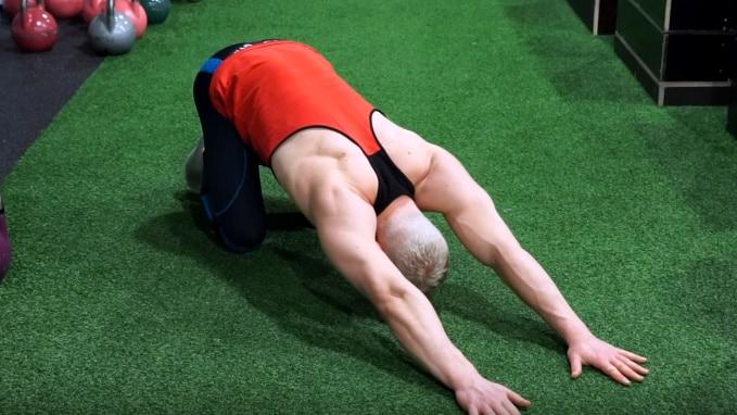 shoulder flexibility routine