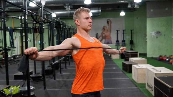 band pull aparts for middle traps