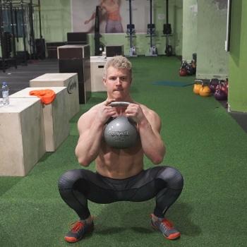 goblet squat best kettlebell exercise