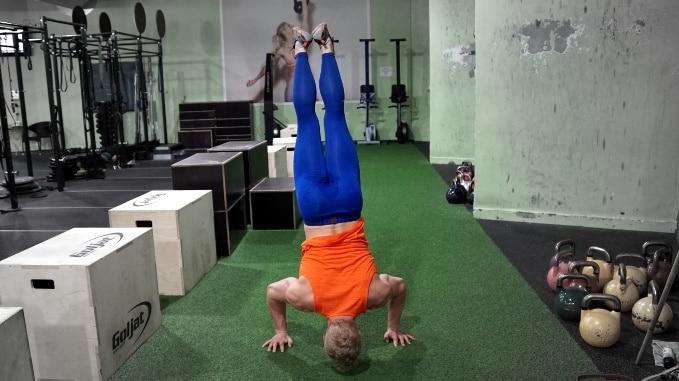 Bird Pull Ups & Handstand Push Ups