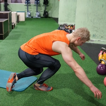 knee jumps for lower body