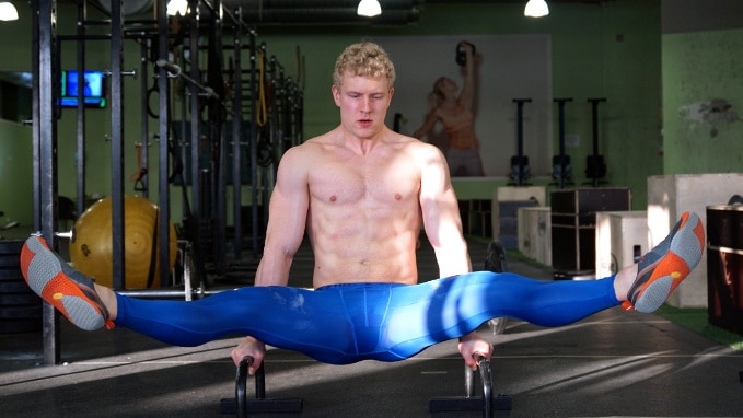 best abs workout straddle l-sit