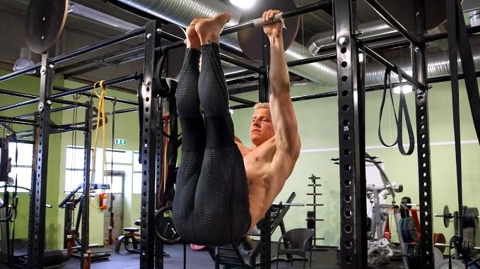 abs leg raise