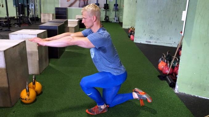 shrimp squat exercise for legs