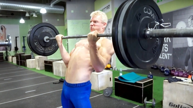 cheat curls for bicep