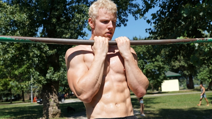 close grip chin ups for biceps