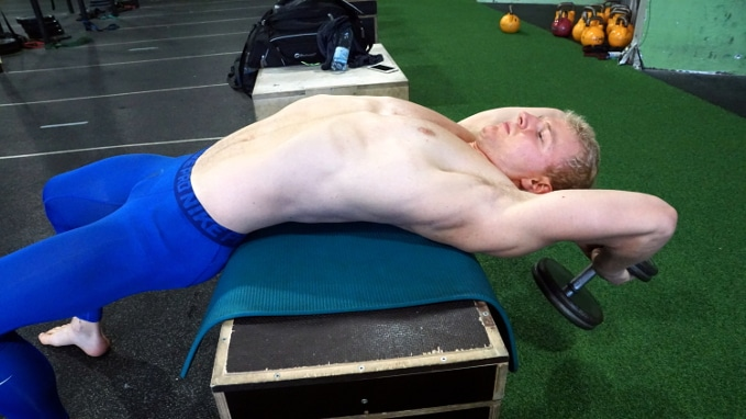 pull overs for thoracic extension