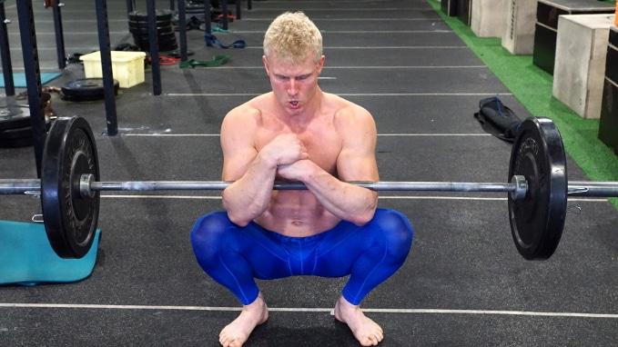 zercher squats for leg gains