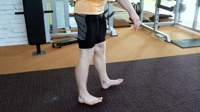 heel walk for tibialis anterior muscle