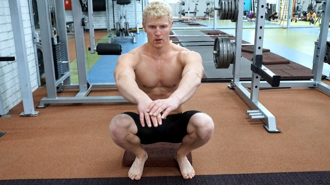 bodyweight front squat