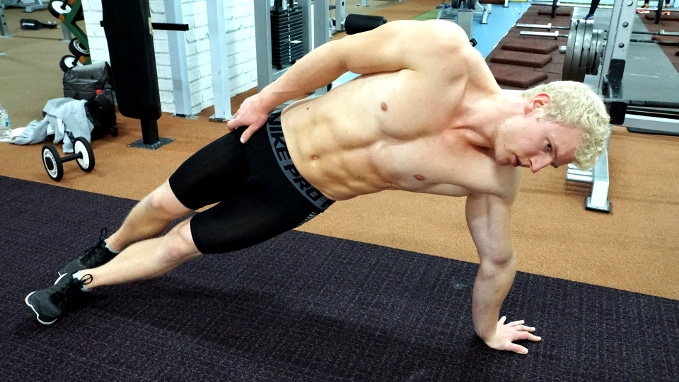 side scapula mobility