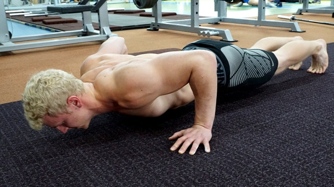 superset push ups