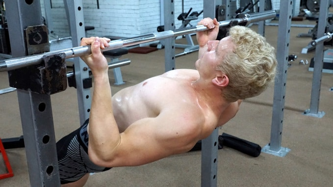 underhand inverted rows