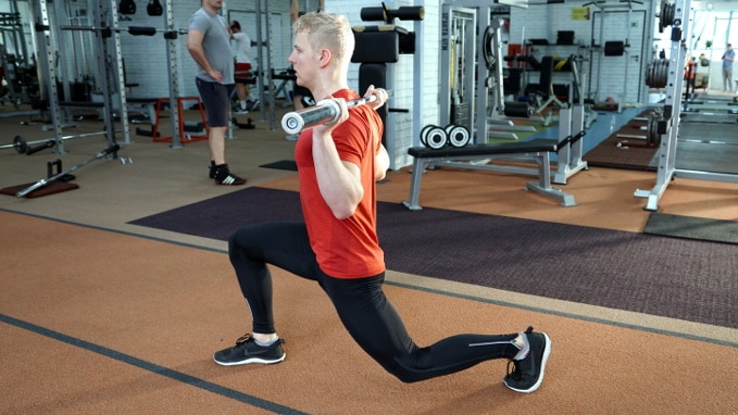 split squat exercise